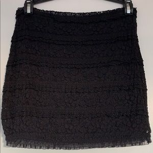 Black, Lace Guess Brand skirt